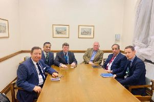 Hemel Hempstead MP Sir Mike Penning joined other MPs to push for urgent action to improve London Northwestern rail service