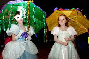 Fat Tuesday in Hastings: Umbrella Parade, which was held inside the White Rock Theatre due to high winds. Photo by Frank Copper SUS-200224-085730001