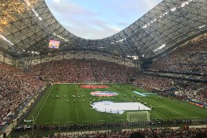 England take on Russia in Marseille at Euro 2016