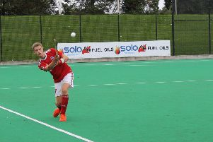 Jack Haycock scored to help Cookstown to a third placed finish in the Irish Indoor Championships