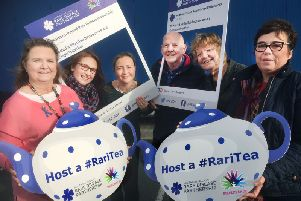 Representatives from the NI Rare Disease Partnership charity have urged people to come along to the local events.