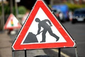 Roadworks library image