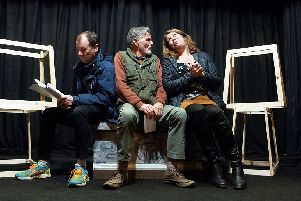 Sleaford Little Theatre in rehearsal for Twelfth Night. Picture: Andrew Rudd. EMN-190325-093821001