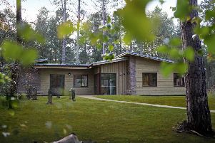 The new lodges