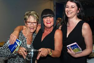 Fundraising was the name of the game at the Rocks' sponsors' draw night / Picture by Tommy McMillan