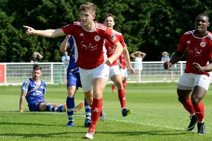Brackley Town boss Kevin Wilkin is hoping top scorer James Armson will be fit for Saturday's FA Cup tie