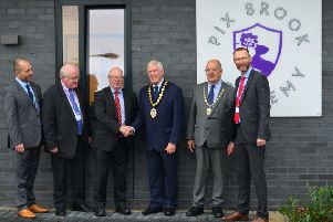 The opening of Pix Brook Academy.