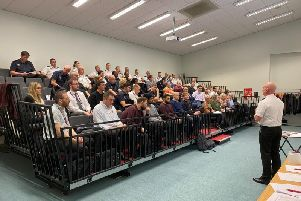 The training day was held at Dunstable Fire Station