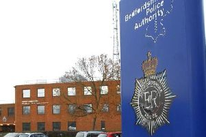 Beds Police HQ at Kempston