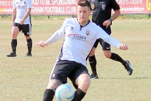 George Gaskin opened the scoring for Pagham