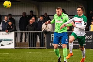 Dan Smith could be back in a Bognor shirt against Tonbridge / Picture by Tommy McMillan