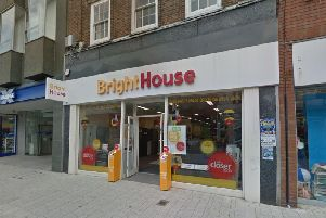 BrightHouse in London Road is set to close within two months. Picture courtesy of Google