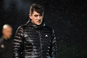 Derry City boss, Declan Devine