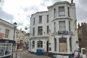 The Unicorn pub. Picture from Google Maps