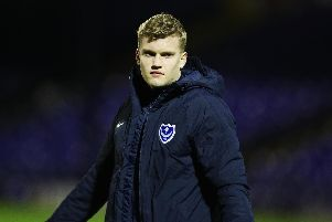 Petar Durin has been with Pompey since last July / Picture by Joe Pepler