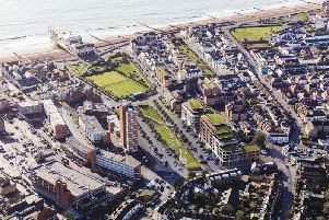 An artists impression of regeneration in Bognor Regis