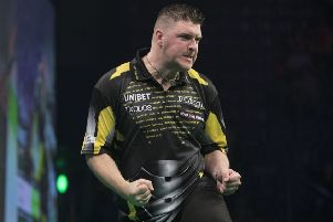Daryl Gurney defeated Michael van Gerwen.