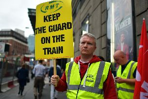 The RMT union has been in dispute with Southern Rail over driver-only operation for three years this month (Photo by Carl Court/Getty Images)