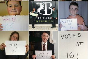West Sussex County Council has agreed 16 and 17 year olds should be allowed to vote
