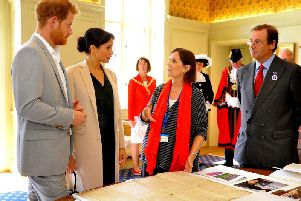 The Duke and Duchess of Sussex were shown the Sussex Declaration when they visited West Sussex in October.