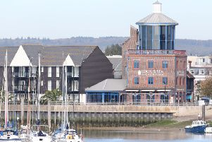 The Look and Sea Centre in Littlehampton Harbour