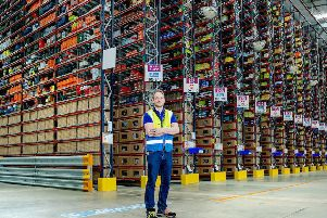 Gareth Davies, new site leader at Amazon in Daventry.''''PHOTOGRAPH BY RICHARD GRANGE / UNP (United National Photographers).
