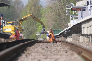 The rail line between Chichester and Havant is set to close during the autumn half term