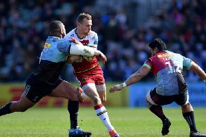 It's between Saints and Harlequins for the final play-off place in the Gallagher Premiership