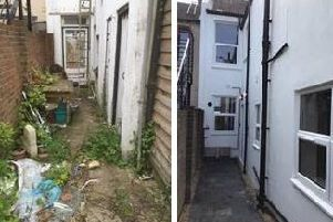 Before and after: a derelict Bognor home has been renovated