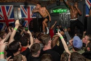 slowthai's recent gig at the Garibaldi in Northampton on Friday