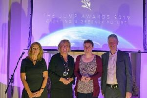 The ceremony for The University of Chichester Jump Awards 2019