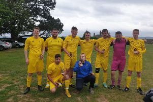 Felpham Colts, winners of the Petworth six-a-side tournament