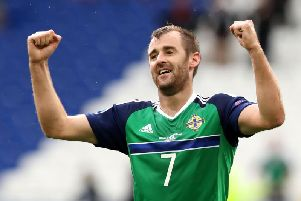 Aberdeen and Northern Ireland star, Niall McGinn