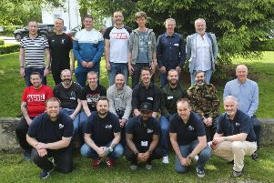 The dads took part in the weekend of activities focusing on their emotional health and wellbeing. (Lorcan Doherty Photography)