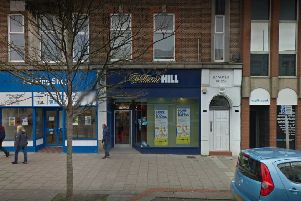 William Hill in Chapel Road, Worthing, is one of many West Sussex shops that could be at risk. Picture: Google Street View