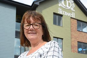 Tracy Heyes, manager at Melton's The Amwell residential home EMN-191207-111419001