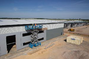 Work underway at the Airfield Business Park