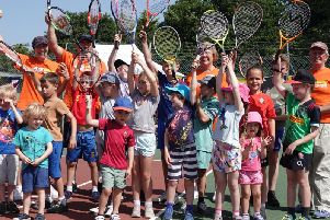 Open day fun for all ages at Aldingbourne Tennis Club