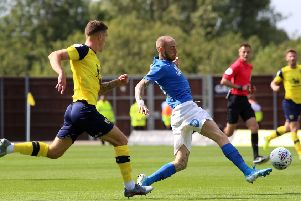 Posh must keep hold of Marcus Maddison. Photo: Joe Dent/theposh.com.