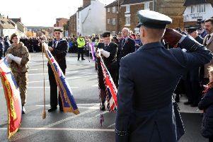 Paying respects - Remembrance Sunday 2018