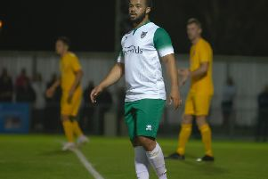 Tyrell Mitford is enjoying life at Nyewood Lane / Picture by Tommy McMillan