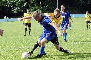 Action from Midhurst v Littlehampton / Picture by Kate Shemilt