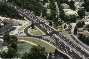 A still of one of the proposed route simulations. Picture: Highways England