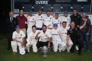CIYMS were crowned the Robinson Services Premier League title winners for 2019 following a narrow victory against Instonians at Shaws Bride on Sunday evening, their second premier league title in succession. Photo Matt Bohill/Pacemaker Press