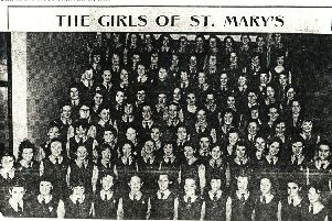1959 : The first group of St Mary's students.