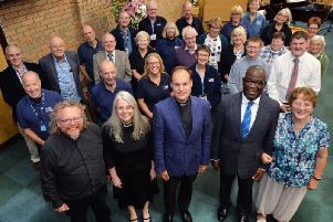 Market Harborough Street Pastors celebrated their 10th Anniversary at the Methodist Church. PICTURE: ANDREW CARPENTER