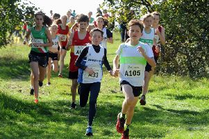 Action in the under-13 race / Picture by Kate Shemilt