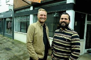 Tom Owen and Steve Pottinger, owners and landlords of The Escapist  a micropub given the go-ahead to open in Crane Street. Photo: Kate Shemilt. ks190558-1
