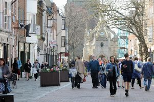 East Street, Chichester. Photo: Kate Shemilt