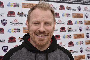 Panthers team manager Carl Johnson.